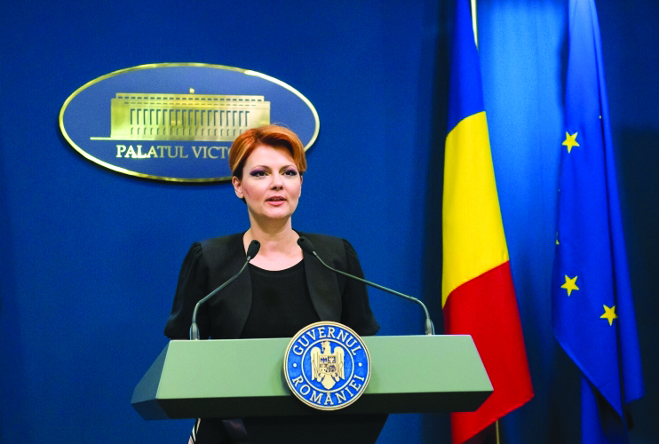 Olguta Vasilescu isi retrage candidatura pentru functia de vicepremier si ministru al Dezvoltarii