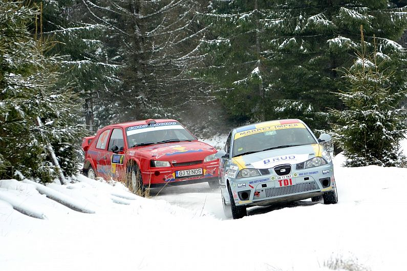 Romania Historic Winter Rally închide circulaţia între Covasna şi Comandău