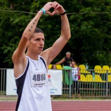 """Dănuț Ceici, sprinterul din Bănie: """"Nu am abandonat niciodată lupta"""""""