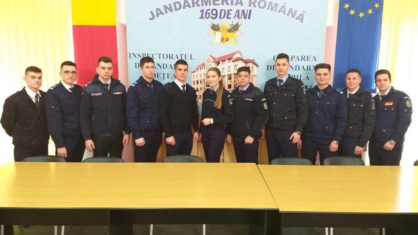 11 studenţi, în practica la Jandarmeria Dolj