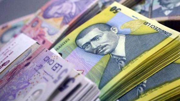 Ministerul Finanţelor a împrumutat de la bănci 334,1 milioane de lei, la o dobândă de 4,50% pe an