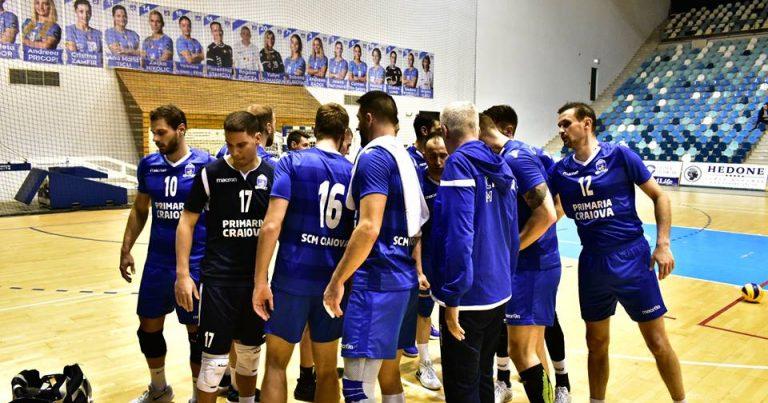 Două înfrângeri consecutive pentru voleibaliștii craioveni