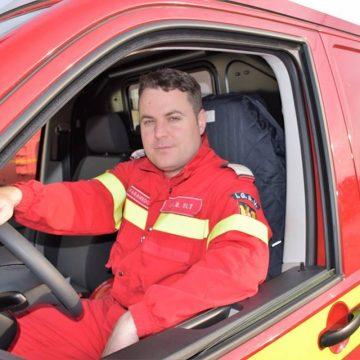 Doru Radu, pompierul SMURD Olt cu peste 3.000 de intervenţii