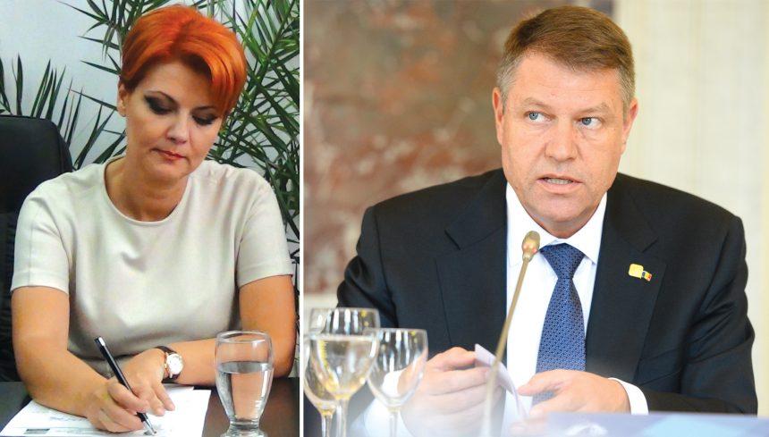 Deputatul Olguţa Vasilescu, plângere penală pe numele Preşedintelui României, după ce acesta i-a respins, din nou, numirea ca ministru