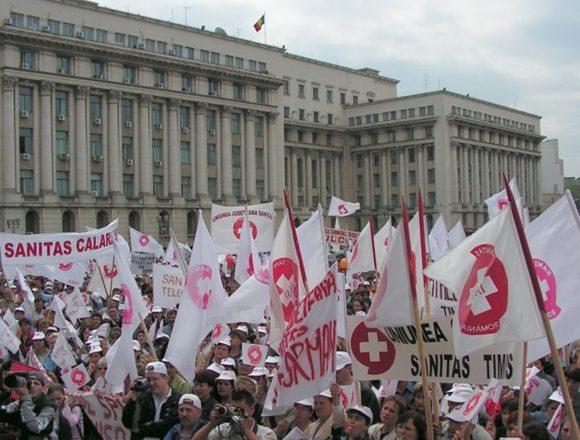 Sindicaliştii Sanitas Olt se pregătesc de proteste