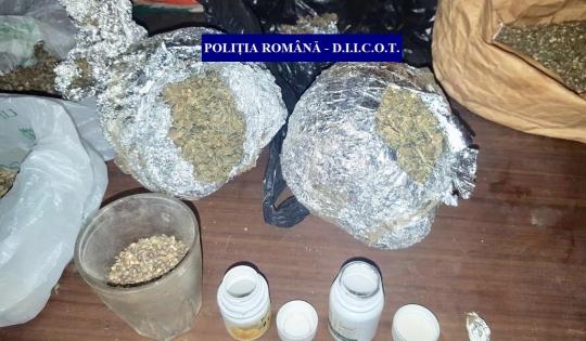 VIDEO/Un kilogram de cannabis, confiscat de SCCO Gorj