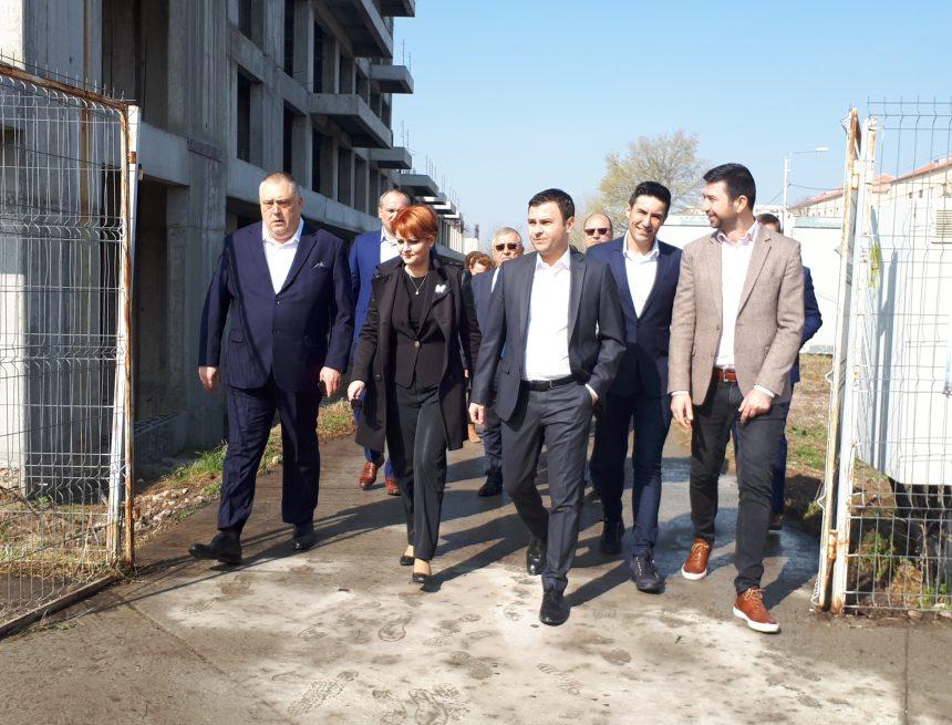 Ministrul Dezvoltării, vizită la cartierul chinezesc