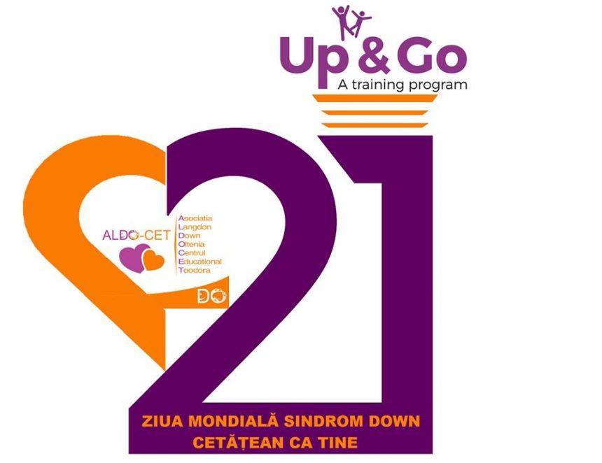 Nu lăsa pe nimeni în urmă! Flashmob de Ziua Mondială Sindrom Down