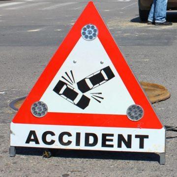 Accidentata pe trecerea de pietoni