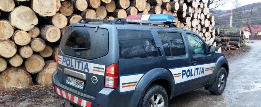 VÂLCEA. Acţiune desfăşurată de poliţişti pentru prevenirea şi combaterea delictelor silvice
