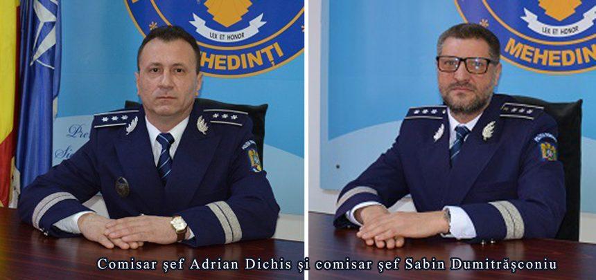 Mehedinți: Adjuncții șefului Poliției Județene au zilele numărate