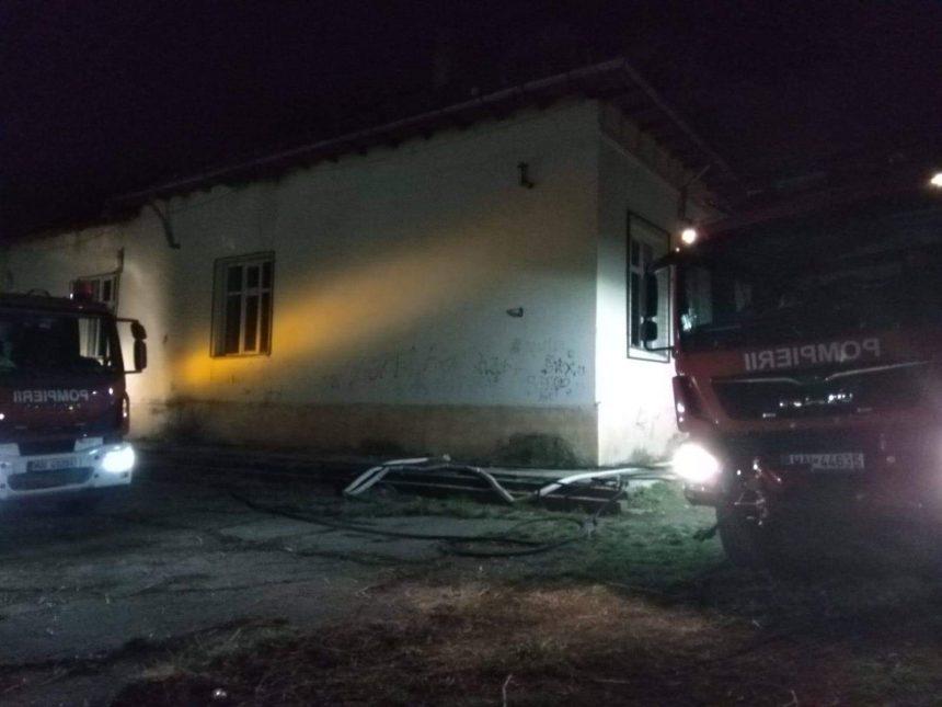 Incendiu la școală