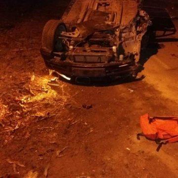 Video/Caracal. Un sofer beat s-a rasturnat cu masina. Incerca sa fuga de politie