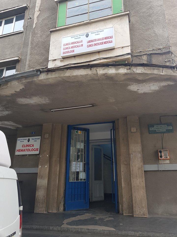 Imagini de groază la Hematologia din Craiova. Pintea anunţă control
