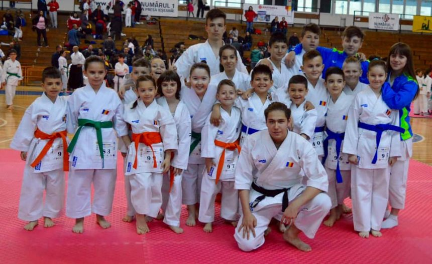 CS Centura Neagră Craiova, pe podium la Campionatul Naţional de Karate