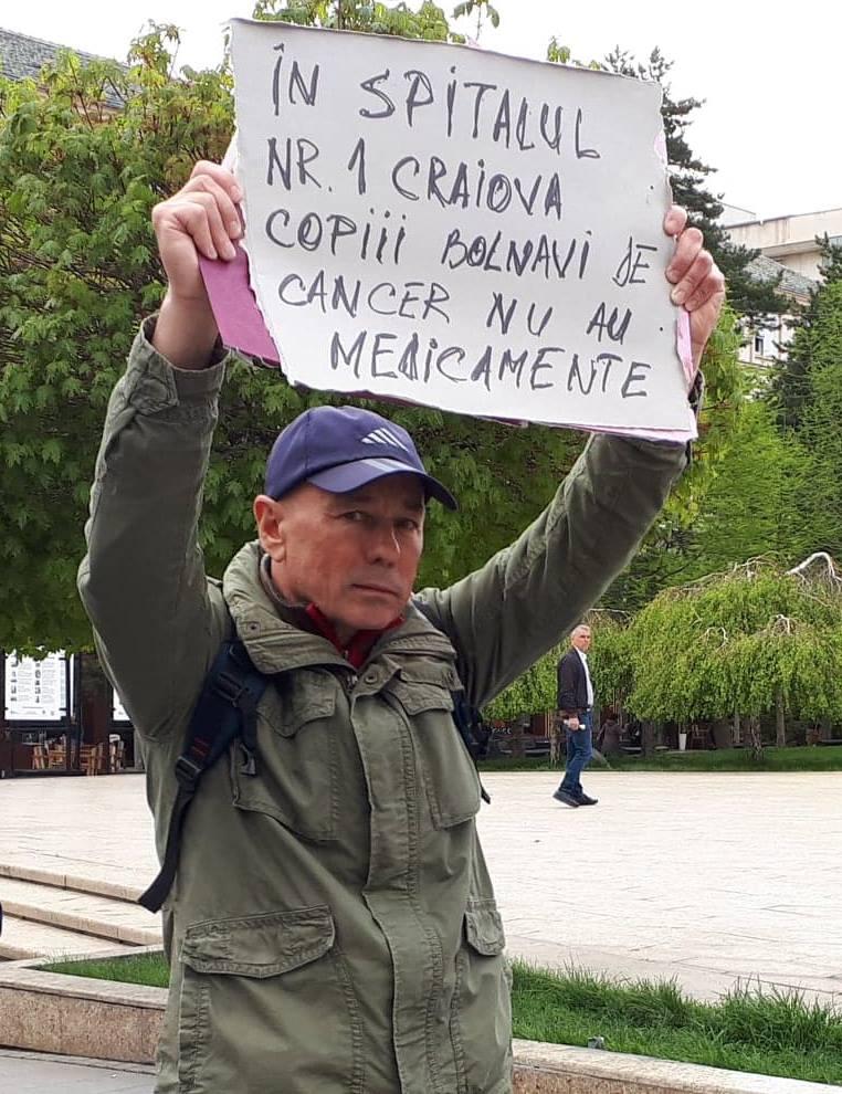 """În spitalul nr.1 Craiova copiii bolnavi de cancer nu au medicamente"""
