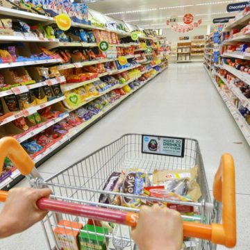 Alimentele, mai scumpe în ultimul an