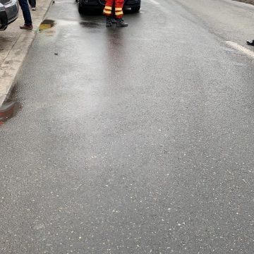 Accident pe Dezrobirii. Femeie lovită de mașină