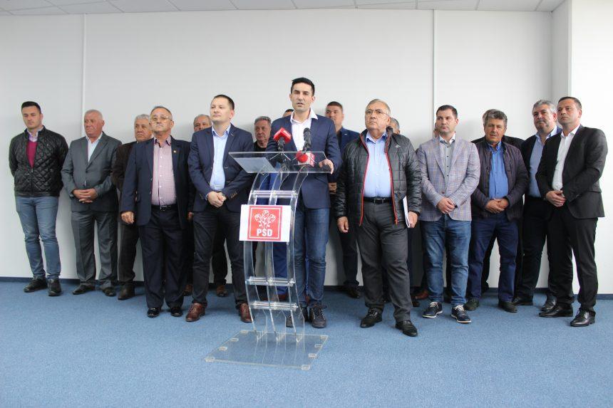 PSD Dolj, miting cu 40.000 de oameni, între care primari de la alte partide