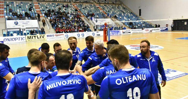 SCM U Craiova a pierdut categoric la Dinamo acasă