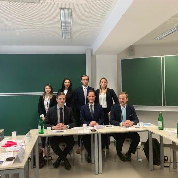 Prima participare a Facultății de Drept la Concursul Internațional Willem C. Vis