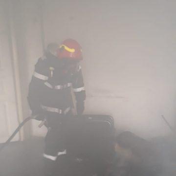 Incendiu la Universitate