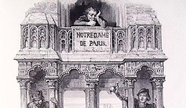 """Volumul """"Notre-Dame de Paris"""", de Hugo, epuizat după incendiul de la catedrală"""