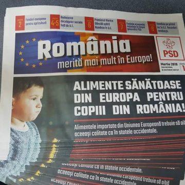 Poştaşii împart ziarele PSD, PNL ameninţă cu instanţa. E contract plătit, spun reprezentanţii Poştei Române