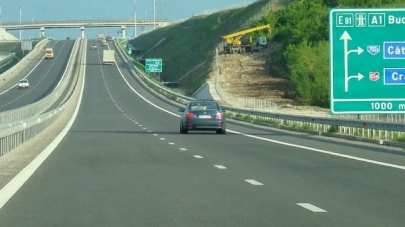 Infotrafic: Trafic intens pe Autostrada A1 Bucureşti – Piteşti