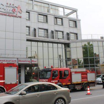 Foc in hotelul lui Razvan Rat