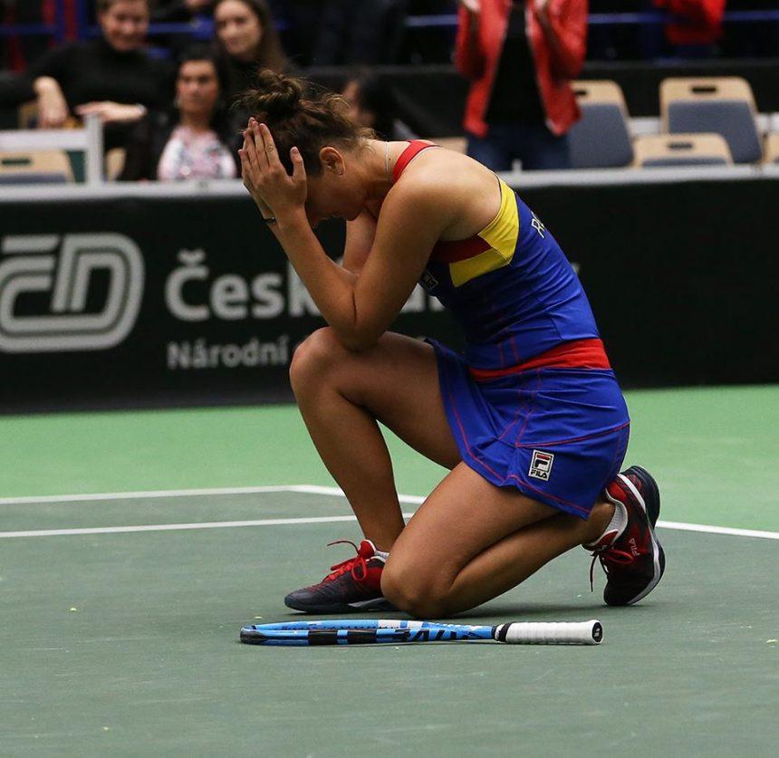 România, înfrângere dramatică în semifinala Fed Cup