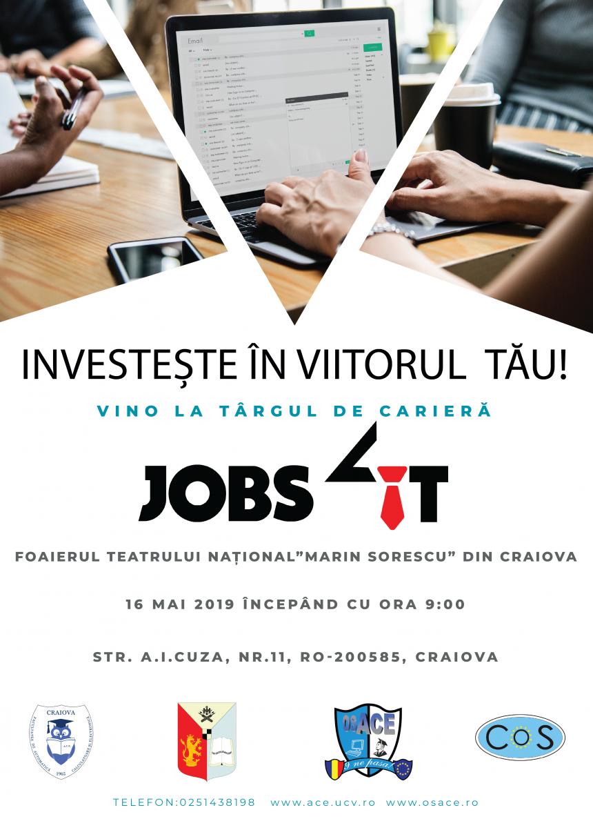 Craiova: Jobs4IT, la ediția a II-a