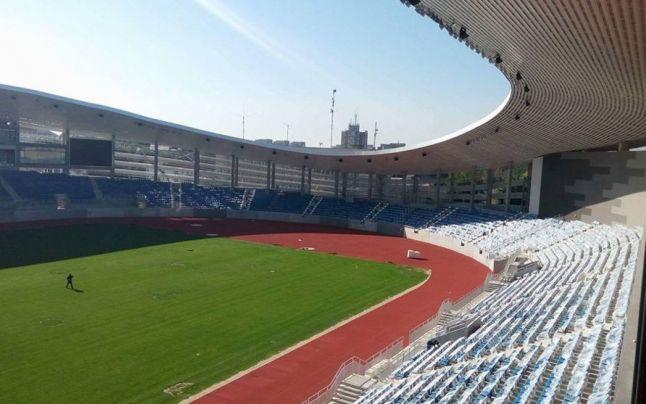 Gorj. Supercupa României s-ar putea desfăşura pe noul stadion de la Târgu Jiu