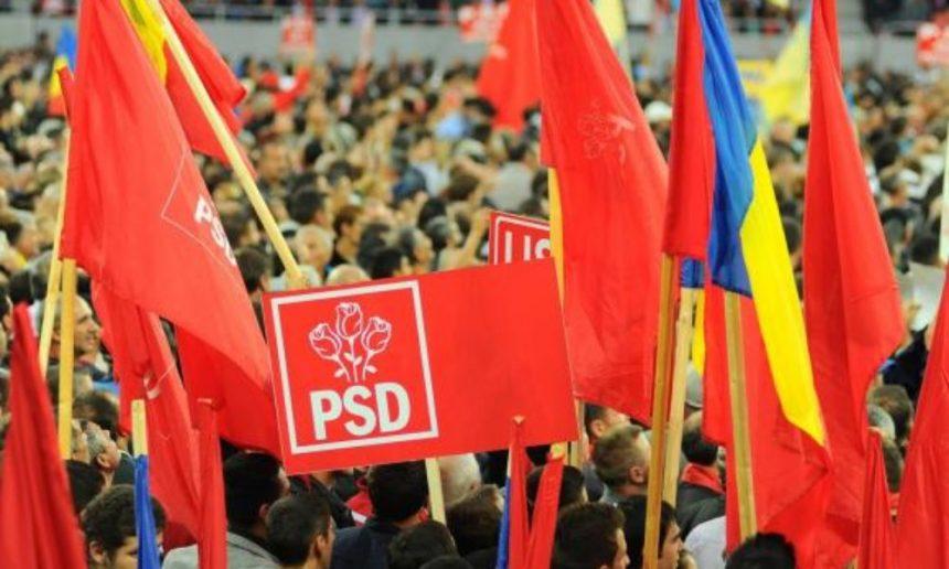 Marele miting PSD, anulat