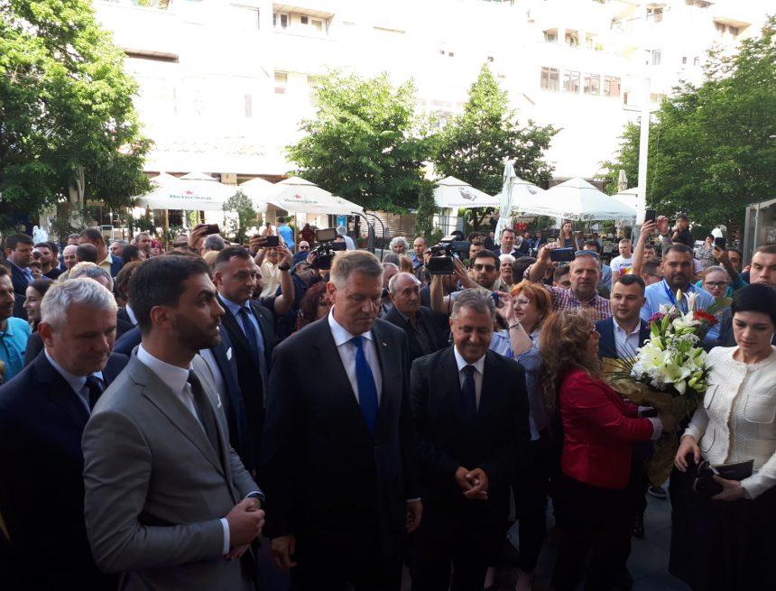VIDEO/Preşedintele Iohannis a lansat la Craiova EU.RO