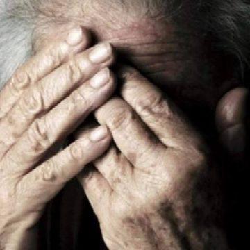 Bătrână găsită cu gâtul tăiat