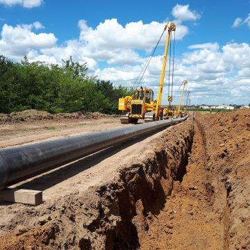 Video / A început introducerea conductelor de gaz de la Craiova la Segarcea