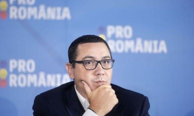 Ponta nu o mai vrea pe Dăncilă în fruntea Guvernului