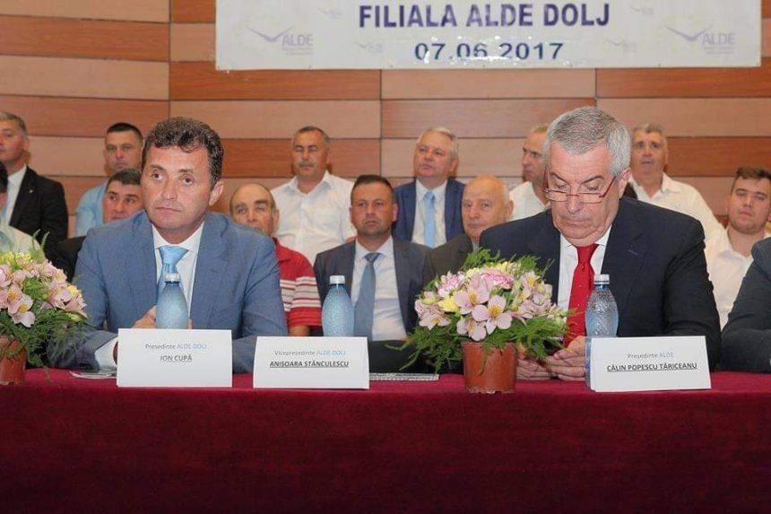 Primar dat afară din ALDE, după ce şi-a declarat susţinerea pentru PSD