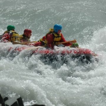 Se deschide sezonul de rafting pe Jiu