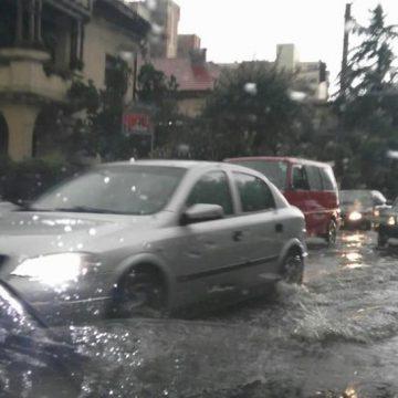 Târgu Jiu, inundat