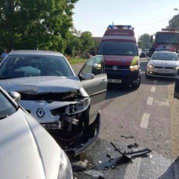 Șoferiță de 19 ani, lovită de o mașină la Târgu Jiu