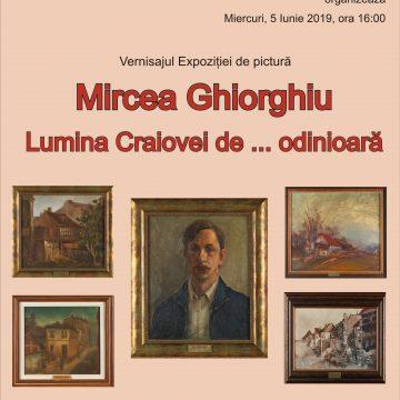 """Craiova. Expoziția de pictură, """"Lumina Craiovei de … odinioară"""", la Biblioteca Aman"""