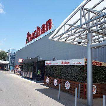 Magazine Auchan, închise din cauza unor probleme tehnice