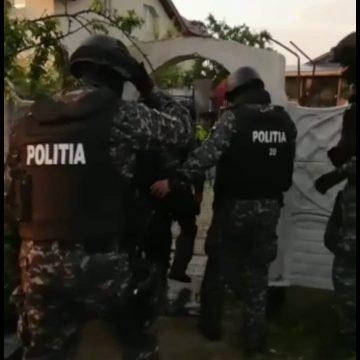 VIDEO/Poliţiştii de la Arme, percheziţii în Craiova şi Bucovăţ