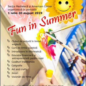 "Craiova. Proiectul educativ ""Fun in summer"", la Aman"