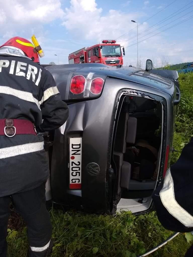 Foto/N-a avut nici o șansă. Accident mortal în Gorj