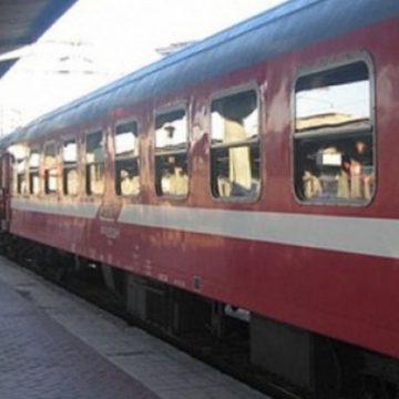 Furtuna din Gorj a afectat și traficul feroviar