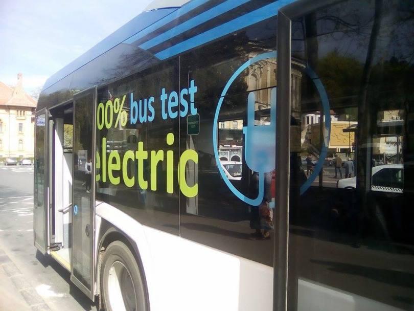 Orașul Brezoi, primul din județ cu autobuze electrice