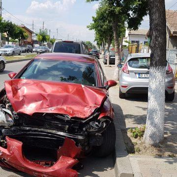 Accident cu două victime